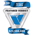2019 Featured Verdict - VerdictSearch