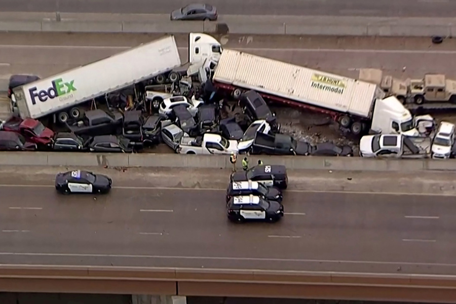 Texas 18-Wheeler Accident Lawyer | NTSB Investigators Arrive Fort Worth Deadly I-35W Pile-Up